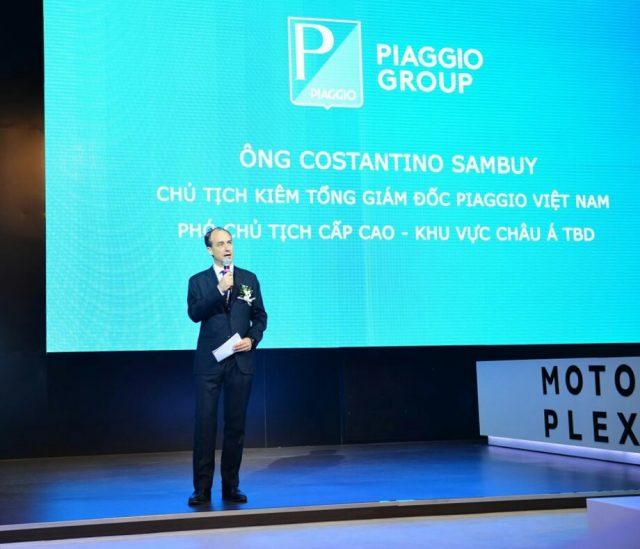 """Piaggio mang loạt """"siêu xe ấn tượng"""" tới trưng bày tại triển lãm mô tô xe máy"""