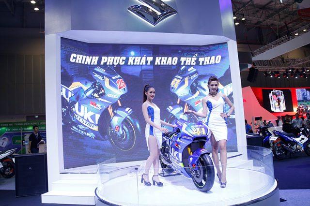 """Suzuki với """"chinh phục khát khao thể thao"""" tại triển lãm mô tô, xe máy Việt Nam 2016"""