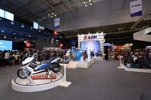 SYM Việt Nam tại triển lãm mô tô xe máy