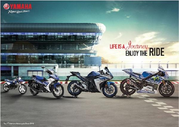 """Trải nghiệm """"hành trình"""" cùng Yamaha tại triển lãm xe máy Việt Nam 2016"""