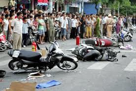 Nghiên cứu Nguyên nhân tai nạn giao thông xe máy và các giải pháp đảm bảo ATGT xe máy ở Thái Nguyên – 2015